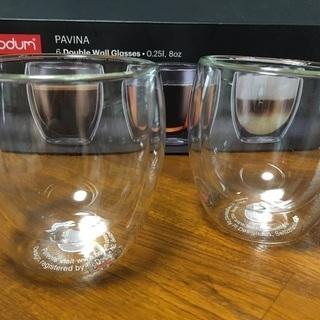 ボダム パヴィーナ グラス2個セット