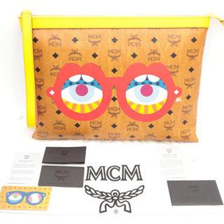《MCM/ロゴグラム クラッチバッグ》Sランク 新品、未使用品 ...