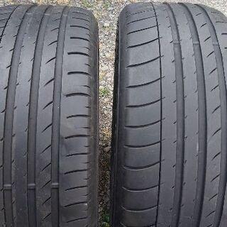 ダンロップ/235/50R18/中古タイヤ2本 売ります!