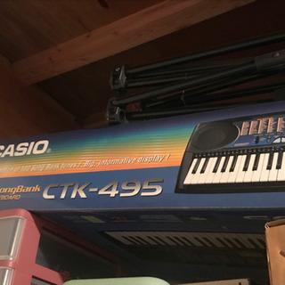 casio ctk-495 キーボード 値下げ