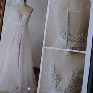 ウェディングドレス アイボリー