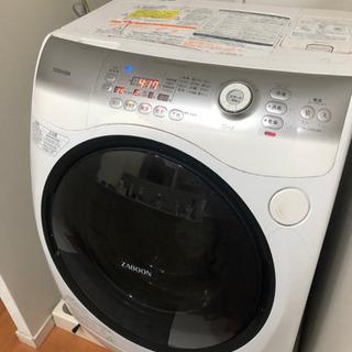 東芝 ZABOON TW-Z390L ドラム式洗濯機 洗濯9.0...
