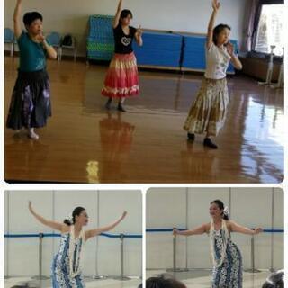日曜フラダンス♪教室オープン!