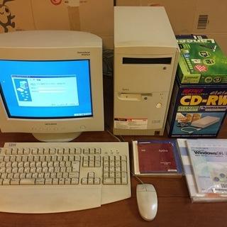 レトロパソコンWin98 IBM 2153-E31 セットで差し...