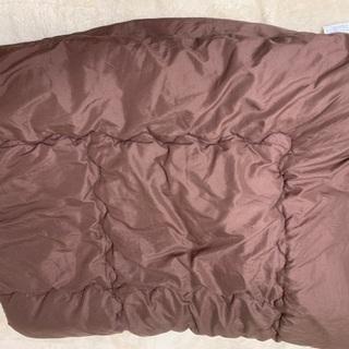 セミダブル用 掛け布団 シーツ付き