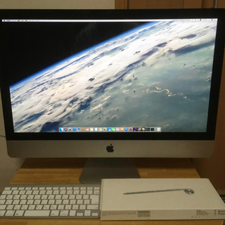iMac 2010 27インチ 動作確認済み