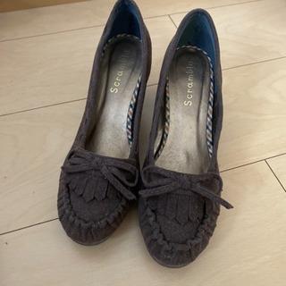 パンプス ヒール 靴 レディース