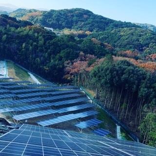 太陽光発電所 電気工事