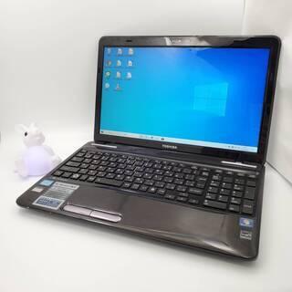 東芝 Corei5 メモリ4GB SSD128GB ノートパソコン