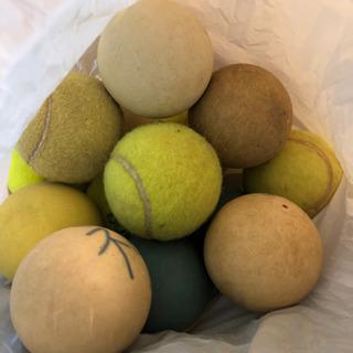 【中古】テニスボール 硬式・軟式セット