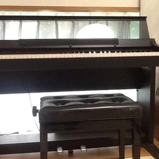 電子ピアノと椅子  差し上げます 無料です