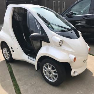 コムス 電気自動車 走行150km 新古車状態