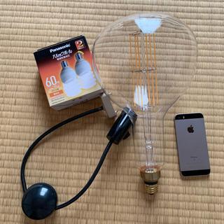 デカイレトロ風LED電球