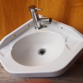 東洋陶器(現TOTO)製 洗面器 手洗い場 昭和レトロ アンティーク