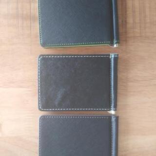 3color 財布 マネークリップ 新品