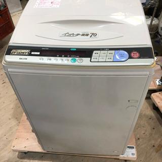 SANYO 洗濯機 7キロ 訳あり ペット用品や靴洗いに最適 97年製
