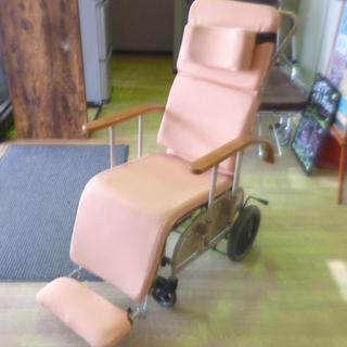 ハビナース 車椅子 布地 リクライニングキャリー 幅58 …