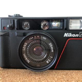 Nikon L35AF フイルム式コンパクトカメラ ケース付