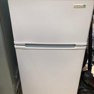 【美品】ハーブリラックス冷蔵庫90L◆ヤマダ電機オリジナル