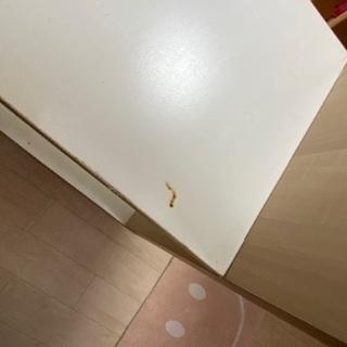 キャスター付き棚【傷、汚れあり】 - 家具