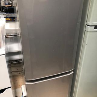 三菱ノンフロン冷凍冷蔵庫 146LMR-P15X