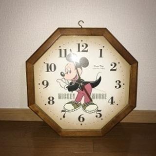 差し上げます!古いディズニー掛け時計