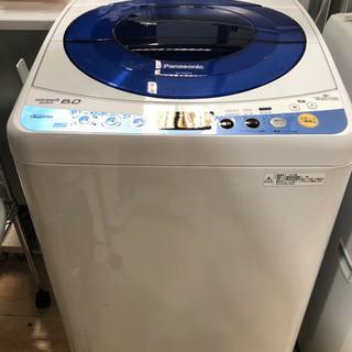 パナソニック洗濯機6㎏ NA-FS60H6