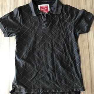 メンズポロシャツ Mサイズ ブラウン