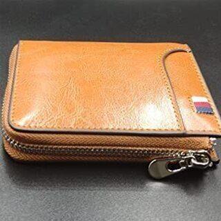 【新品・未使用】#1663 財布 メンズ 二つ折り 人気 本革 ...