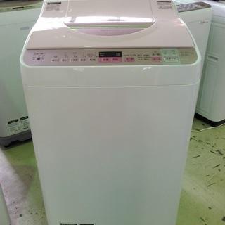 安心の一年保証!タテ型洗濯乾燥機 5.5㎏ SHARP/シャープ...