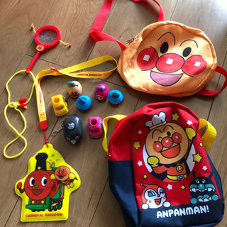 アンパンマン リュック 肩下げかばん おもちゃセット