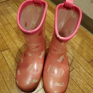 女の子用 長靴 18cm