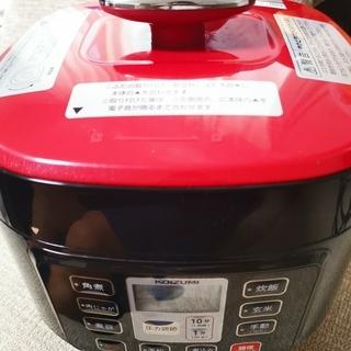 コイズミ マイコン 電気圧力鍋 1.6L 3.5合 KSC-3501