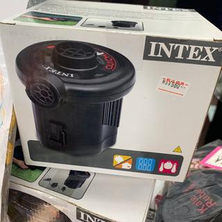 🌸新品未使用✨ INTEX 電動エアポンプ