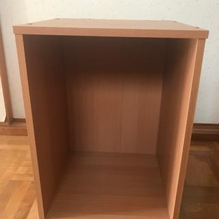 木製ボックス ナチュラル