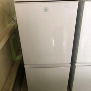 安心の一年保証!冷蔵庫 2ドア SHARP/シャープ プラズマク...