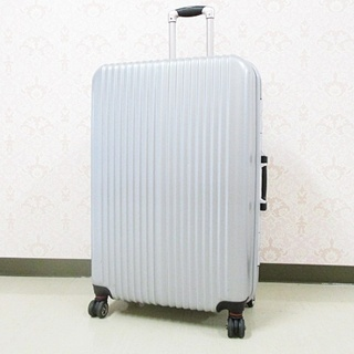 レジェンドウォーカー スーツケース  シルバー 大型 外観約81...
