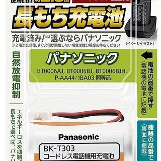 Panasonic 充電式ニッケルBK-T303