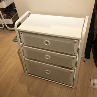 【IKEA美品】衣類等に軽量プラ段チェスト【イケア】