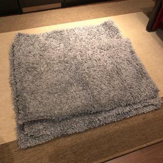 【未使用・洗濯済み】IKEA ラグ正方形シャギーマット★3枚出品