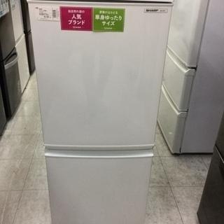 【6ヶ月間の保証付き】シャープ 137L 2ドア冷蔵庫【トレファ...