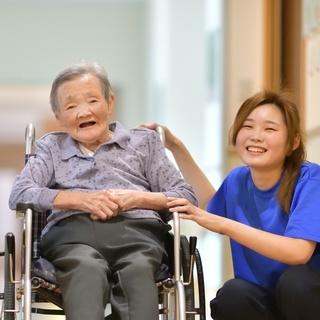 【キレイな職場環境☆】草加市の有料老人ホームのケアスタッフ