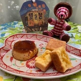 ベトナムプリンと台湾パイナップルケーキ