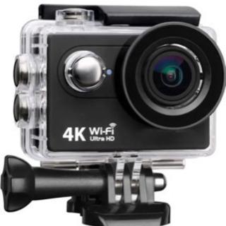 残1個!シルバー未使用品!4K 高画質 アクションカメラ 防水 ...
