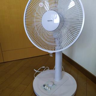 扇風機 TEKNOS リビング扇風機 KI-1775-W