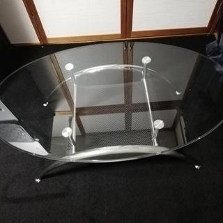 値下げ ガラステーブル(ニトリ製)