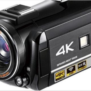 送料込!未使用!4Kビデオ!SONY製CMOSセンサー装備!