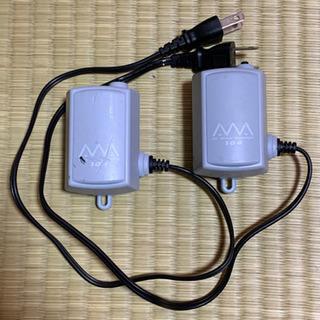 水槽用エアーポンプ2個セット