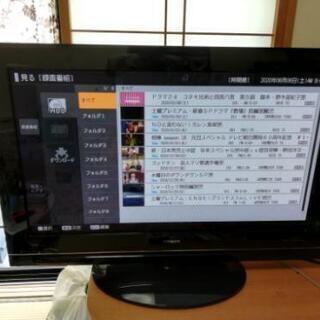 42型HDD 内蔵テレビ(更にHDD増設可能) HITACHI ...