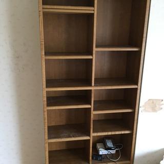 本棚 高さ、収納力あります。掲載6/15まで。